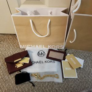 Michael Kors Whitney SM CHN TAB CNV CRYLL Wallet